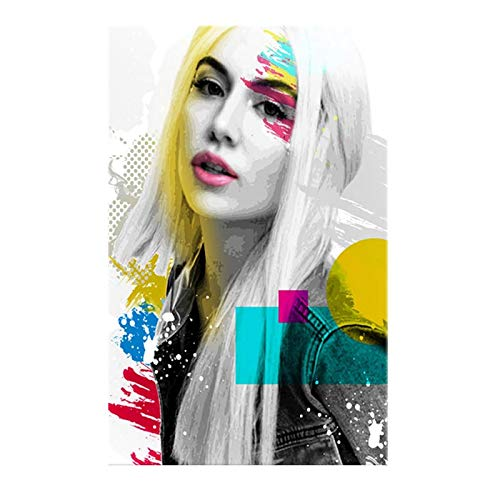 FGVB Ava Max Posters Wall Art Poster for Living Room Decor Picture Canvas Printed Painting Home Decoration Living Room office bedroom50x70cm Noframe