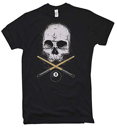 NG articlezz – T-Shirt – Billard Skull Oldschool Gr. S-5XL