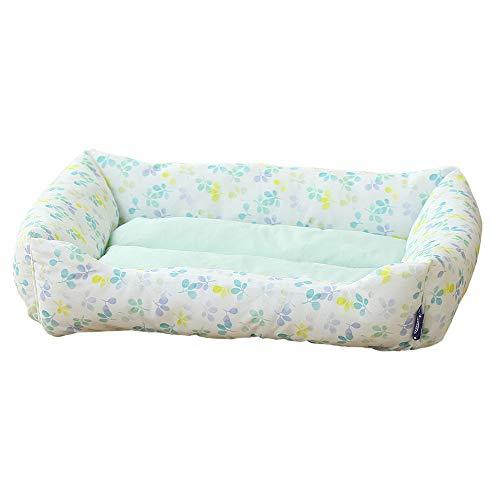 アイリスオーヤマ ペットベッド ひんやり 夏用 冷感 クッション ソファ 洗える 角型 小型犬 猫用 Mサイズ