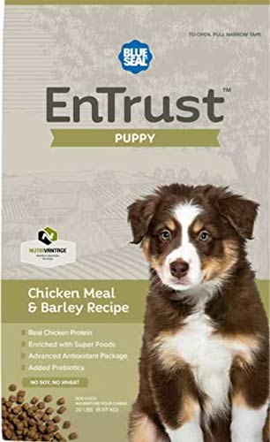 Blue Seal EnTrust Puppy Chicken Meal & Barley (6 Pounds)