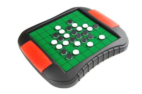 Quantum Abacus Monaco Reversi, magnetisches Brettspiel, Größe Medium: Abmessungen 27,2 x 23,7 x 3,5 cm, Mod. SC9612 DE
