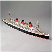 1/400 RMSクイーンメアリーモデルキット、ブリティッシュロイヤルメール汽船3Dパズルペーパーモデルビルディングキット手作りクラフトギフト