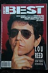 BEST 252 JUILLET 1989 LOU REED Stevie Wonder SILENCERS Cowboy Junkies Cyndi LAUPER Les TATOUES