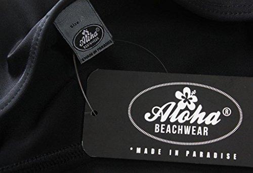 Aloha-Beachwear Damen Badeanzug A3006 Schwarz Gr. 38 - 4