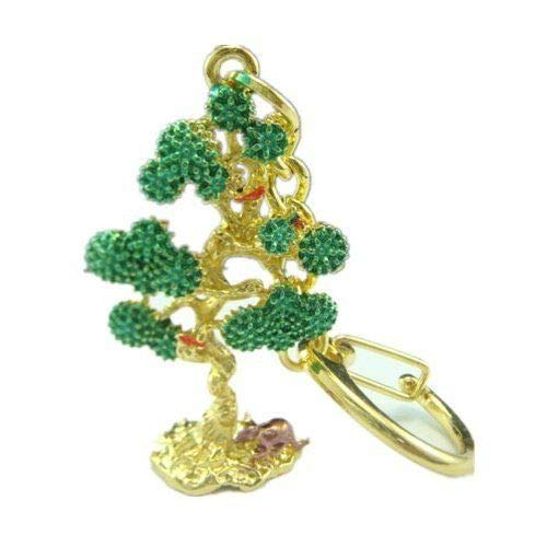 Feng Shui Wish Granting Tree of Life Keychain