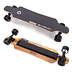 ■ GREAT RANGE AND SPEED – Fly down the streets with confidence and style on this electric skateboard with remote. On this longboard skateboard cruiser you can reach a max speed of up to 17 MPH. It has a range of 6-8 miles once it is fully charged. It...