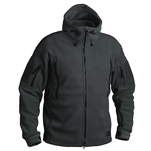 Helikon Tex PATRIOT Heavy Fleece JACKE - Jungle Grün (XL)
