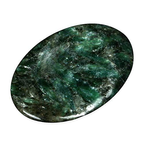 CrystalAge Pierre pouce en mica chromé vert