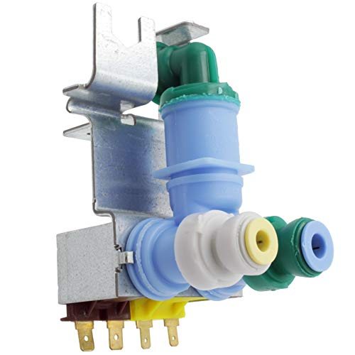 Supplying Demand 67005154 Refrigerator Dual Water Inlet Valve Fits 67003818 & 8208153