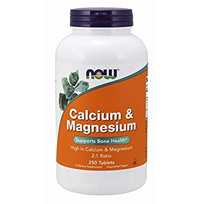 NOW Foods - Calcium & Magnesium High Potency