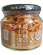 阿部幸製菓 柿の種のオイル漬け ピーナッツバター 1個 147g 常温 パンのお供 お取り寄せ