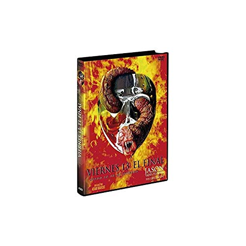 Freitag der 13. - Teil 9 - Jason Goes to Hell (Uncut/R-Rated Import inkl. deutschem Ton)