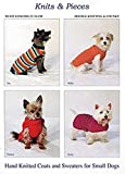 Knits & Pieces Kitting Pattern - Coats and Sweaters for small dogs - Sandra Polley