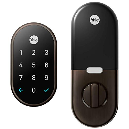Google RB-YRD540-WV-0BP x Yale Nest Connect Lock and unlock the door, 1, Oil-Rubbed Bronze