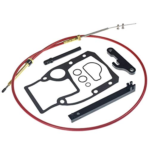Lower Shift Cable Assembly kit for OMC Cobra Sterndrive Replaces 987661 gasket