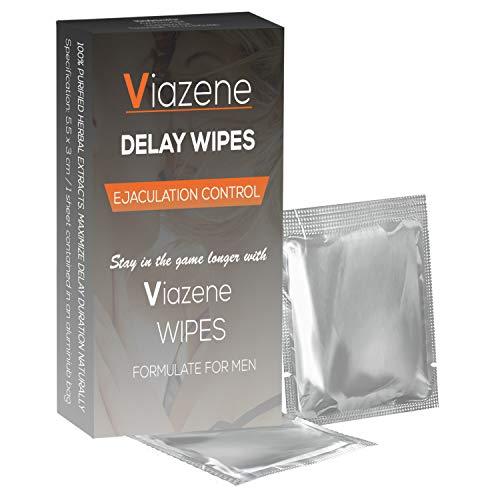 Viazene – Fördröjda våtservetter – formel för män – maximera din vistelse naturligt – ejakulationskontroll