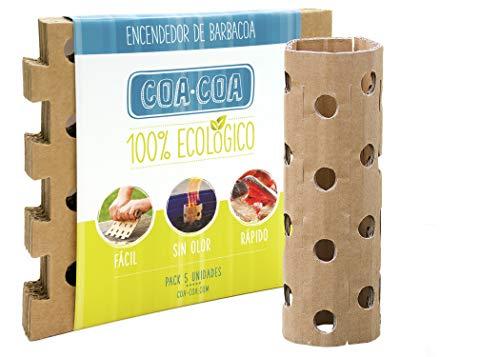 COA-COA Encendedor de Barbacoa Ecologico (Red & Yellow)
