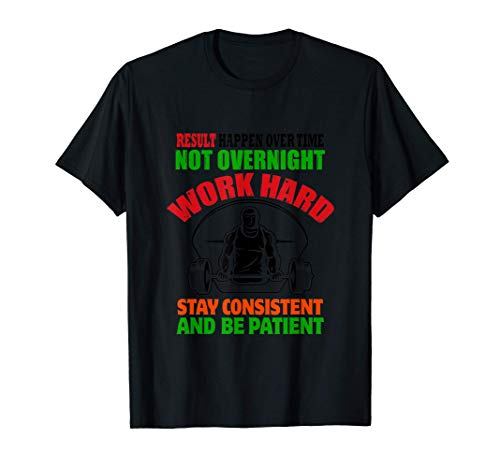 Shirt Work Hard Motivation mit Spruch Sport Damen Herren T-Shirt