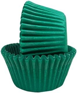 Regency Wraps Greaseproof Baking Cups, Solid Green, 40-Count, Standard.