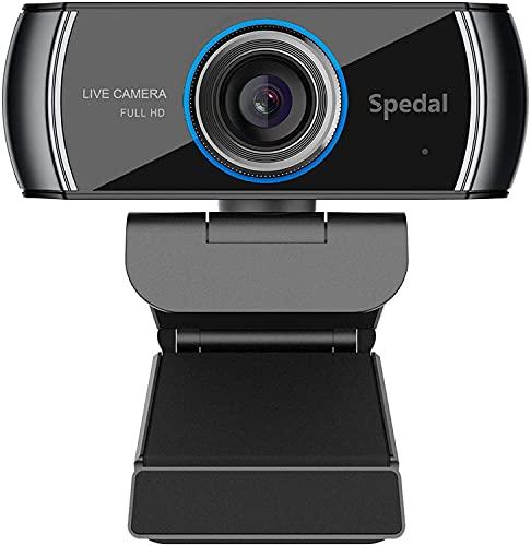 Spedal Webcam PC con Micrófono, Web Cámara...