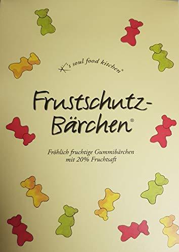 Hussel K´s Soul Food Kitchen Frustschutz-Baerchen  Natuerliche Fruchtaromen, 150g