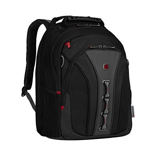 "Wenger Legacy 16"" Eleganter Business Laptop Rucksack in schwarz/grau"