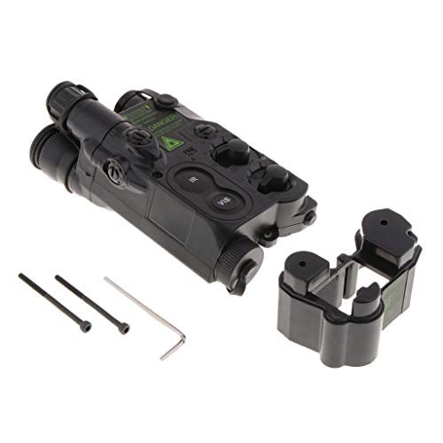 IPOTCH 1 Stück PEQ-16-Akkubox ABS-Kunststoffgehäuse für AEG oder Dummy Sight - Schwarz