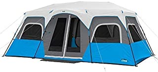 CORE Lighted 12 Person Instant Cabin Tent - 18' x 10'