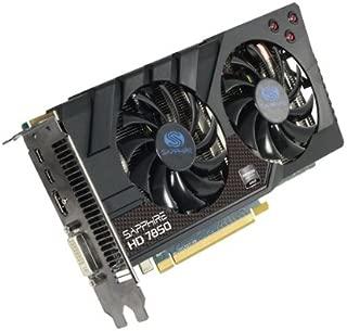 Sapphire Radeon HD 7850 OC 2 GB DDR5 HDMI/DVI-I/Dual Mini DP PCI-Express Graphics Card 11200-01-20G