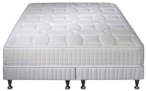 Simmons Venise Ensemble sommier + matelas ressorts ensachés garnissage latex 160x200