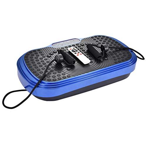 Yuanyan Machine à plaques vibrantes, plate-forme de vibration 3D, massage confortable pour perte de poids tonification du corps, 99 niveaux d intensité, entraînement à la maison salle de sport