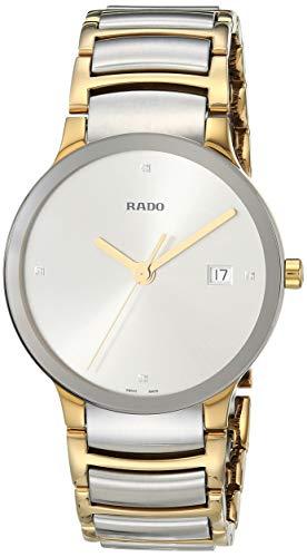 Rado Men's Centrix Diamond Swiss Quartz Watch