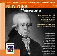 Complete Mozart Divertimentos Historic First 4