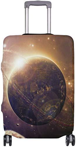 Planets Asteroids Maleta Protector Elástica de Maleta de Viaje Cubierta de Equipaje Impermeable Cubierta de Equipaje con Impresión Delicada
