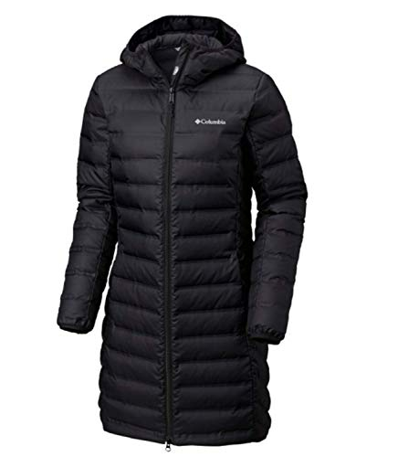 Price comparison product image Columbia Women's McKay Lake Long Down Hooded Winter Jacket Black (Large)
