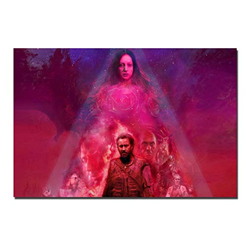 YKing1 Mandy Movie Poster Modern Canvas Paintings, Mural Posters Wall Picture Bedroom Home Decor Art 100x70cm unframed