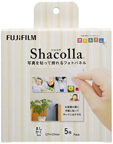 FUJIFILM 『壁アルバム』用フォトパネル shacolla(シャコラ) 127 マシカク 5パック