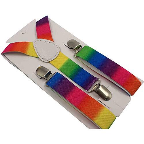 LLZGPZBD bretels regenboog kinderen riem bretels