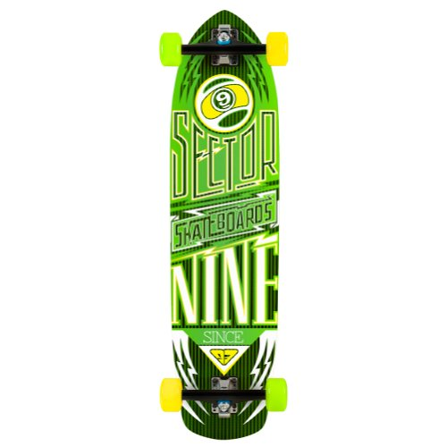 Sector 9 Carbon Flight Complete Skateboard, Uomo, 888961671930, Blue, Taglia Unica