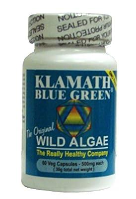 Klamath Blue Green Algae - Pack of 60 Capsules from The Really Healthy Company