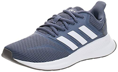 adidas Runfalcon, Zapatillas de Entrenamiento Mujer, Azul (Raw Indigo/FTWR White/Grey Three), 39 1/3 EU