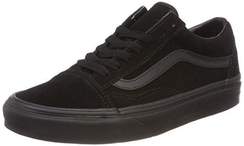 Vans Unisex-Erwachsene Old Skool Sneaker, Schwarz (Suede), 40 EU