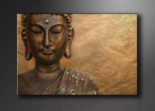 Visario afbeeldingen op canvas 4041 afbeelding op canvas Boeddha, 80 x 60 cm
