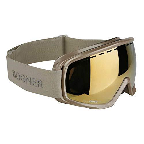 Bogner Snow Goggles Monochrome | Gold Champagne | Ski & Snowboard | Hochwertige Qualität