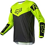 Fox Racing YTH 180 REVN Jersey, Fluorescent Yellow, Large