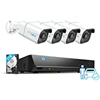 Reolink 8CH 4MP PoE Home Security Camera System