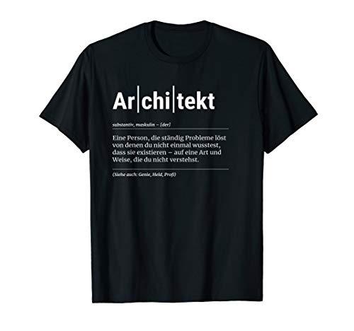 Architekt T-Shirt Lustiges Geschenk Kollege