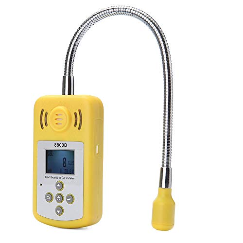 no-branded Tragbare Gas Analyzer brennbare Gas-Detektor Gasleckortung Bestimmen Tester mit LCD-Bildschirm Ton-Licht-Alarm XXYHYQHJD