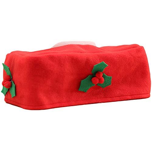 Toilettenpapierhalter Rollenhalter Toilettenpapieraufbewahrung Toilettenpapierhalter Toilettenpapieraufbewahrung 1 Stück Wiederverwendbare Weihnachten Stil Tissue Box Durable Serviettenhalter Gadget