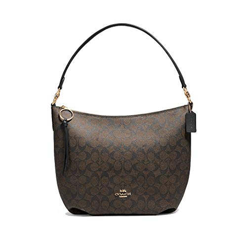 COACH Skylar Hobo Women's Handbag (Brown Black), used for sale  Delivered anywhere in Canada